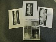 1960-61 Nasa Orig Apollo Saturn Stages And First Launch Glossy Project Photos 4