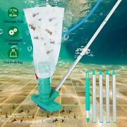 Swimming Pool Vacuum Head Brush Cleaner Fountain Cleaning Tool Telescopic Pole
