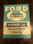 1959 Ford Passenger Car Parts And Accessories Catalog—galaxie And Thunderbird