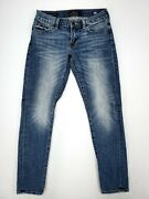 Lucky Brand Sienna Cigarette Womens Skinny Jeans Size 00/24 Comfort Stretch Euc