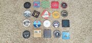 New Lot Of Craft Brewery Coasters, Stone, Boulevard, Noble Ale Works, Alpine