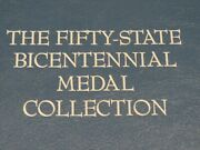 50 State Bicentennial Medal Collection Limited Edition Solid Sterling Silver Exc