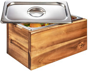 Bellemark Kitchen Compost Bin- 1.6 Gal Smell Proof Rust Proof Stainless Steel -
