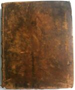 Antique 1834 H And E Phinney Holy Bible Cooperstown Ny Family Bible Archive