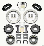 Wilwood Narrow Superlite 4r Rear Kit 12.88in Speedway Eng Floater W/ New Style E