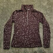 Under Armour Womens Coldgear Infrared 1/4 Zip Mock Neck Jacket Large