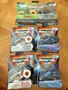 Monster Jam Walmart Lot Zombie Pirate Curse Son Uva Digger Earth Shaker Soldier