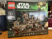 Retired Lego Star Wars Set 10236 Ewokandtrade Village New And Factory Seal