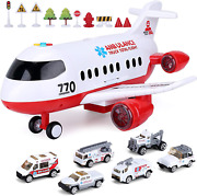 Airplane Toy, Kids Plane With Light And Sound For 3 4 5 6 7 Year Old Boys Girls