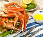 3 Lbs 10-14 Oz Colossal Canadian Snow Crab Leg Clusters- [frozen]