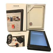 Barnes And Noble Nook Hd+ Plus 9in Wi-fi 32gb Bntv600 Tablet Charger And Case