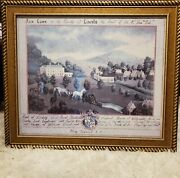 Fair Lawn County Of Lincoln 33x 28 S. Bender Privy Councill Signed Rare Print