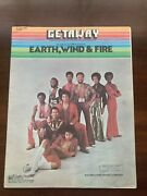 Getaway Sheet Music And Photos, Earth, Wind And Fire, 1977, In Good Condition