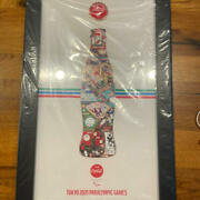 Tokyo 2020 Paralympic Coca Cola Complete Bottle Puzzle Pin Badge W/ Box New [mo]