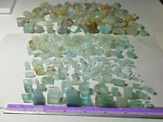 750 Grame Beautiful Colour Aquamarine Crystal's And Rough Mix Lot From Afghanistan