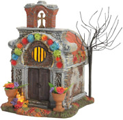 Department 56 Snow Village Halloween Day Of The Dead Crypt
