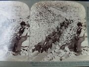 91 Underwood Stereoview Cards And Box Italy Europe 1897-1905