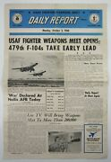 Usaf Fighter Weapons Meet William Tell 479th Tac Fighter Wing Nellis Afb 1960
