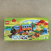 New Lego Duplo My First Train Set 10507 Factory Sealed. Retired Super Fun