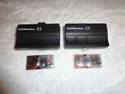 2 Pack Liftmaster 373lm Security+ Garage Door Opener Remote Control And Free Ship