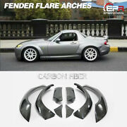 For Mazda Mx5 Roadster Nc Miata Front And Rear Fender Flares Tp Style Carbon Fiber