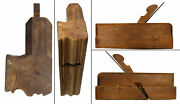 Early Beech Complex Molding Plane - L. Kennedy, Hartford - Quirk Ogee And Astragal