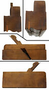 Steep Quirk Ogee Complex Molding Plane - A. And E. Baldwin, N.y. - Marked 3/4