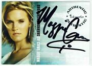 Lost Season 1 Inkworks Autograph Card A-3 Maggie Grace As Shannon Rutherford