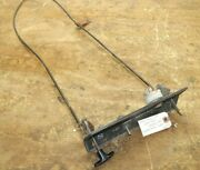 Wheel Horse C-160 Dash Panel W/ Throttle And Choke Cable 104023