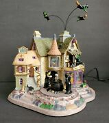 Lemax Witches Brew Haus Spooky Town Haunted Halloween Village Motion Sound Works