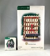 Dept 56 Lot Of 2 Ed Sullivan Theater + A Night On The Town Cic D56