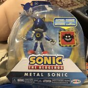 Sonic The Hedgehog Metal Sonic Action Figure New Unopened Package Damaged