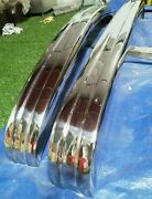 Volkswagen Karmann Ghia Type 3 1970-1973 Stainless Steel Bumpers Polished 304.