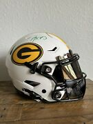 Aaron Rodgers Green Bay Packers Autographed Full Size Lunar Speed Flex Fanatics
