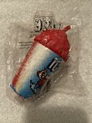 Brand New Sealed Vintage 1999 Rare Vintage Icee Cup With Straw Antenna Topper