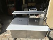 Beverage Air Sandwich Prep Table Mega Top 2 Yrs Old Perfect
