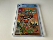 Transformers Headmasters 1 Cgc 9.6 White Pages Newsstand Marvel Comics 1987