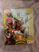 Sh Figuarts Mighty Morphin Power Rangers Armored Red Ranger New Signed