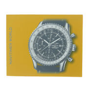 Breitling Authentic Navitimer World Watch Instructions Manual