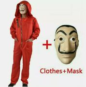 Salvador Dali The House Of Paper La Casa Cosplay Money Heist Costume And Face Mask