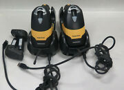 Lot Of Two Datalogic Powerscan M8500 1d 2d Barcode Scanner Usb Cradle And Battery