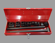 Plumbing Cleanout Plug Wrench Set - Plumbing Tool - Cleanout Cap - Red Case