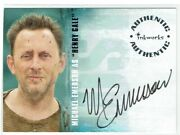 Lost Season 2 Inkworks Autograph Card A-17 Michael Emerson As Henry Gale