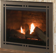 Majestic 36 Meridian Direct Vent Fireplace With Intellifire Touch Ignition- Lp
