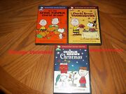 A Charlie Brown Christmas Thanksgiving Itand039s The Great Pumpkin Charlie Brown Dvd