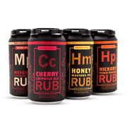 Derek Wolf - 6 Pack Beer Rub Sampler - Bbq Rubs And Spices For Smoking And Grill