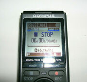 Olympus Vn-721pc Digital Audio Voice Recorder - Black/silver -tested 4.25 Long