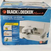 New Black And Decker Home C085 Spacemaker Under Cabinet Can Bottle Opener White