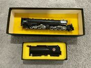 Tenshodo Pfm Brass Crown 2-8-8-2 Great Northern R-2 And Tender - Made In Japan