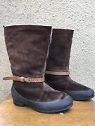 Wwii British Raf Royal Air Force 1941 Pattern Irvin Flying Bomber Boots Size 8